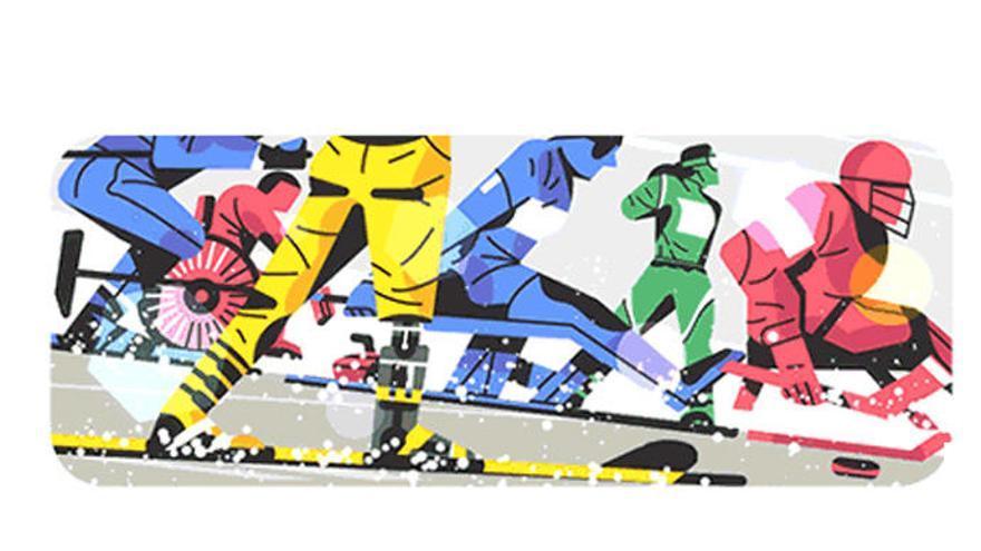 El doodle da la bienvenida a los Juegos Paralímpicos de Invierno
