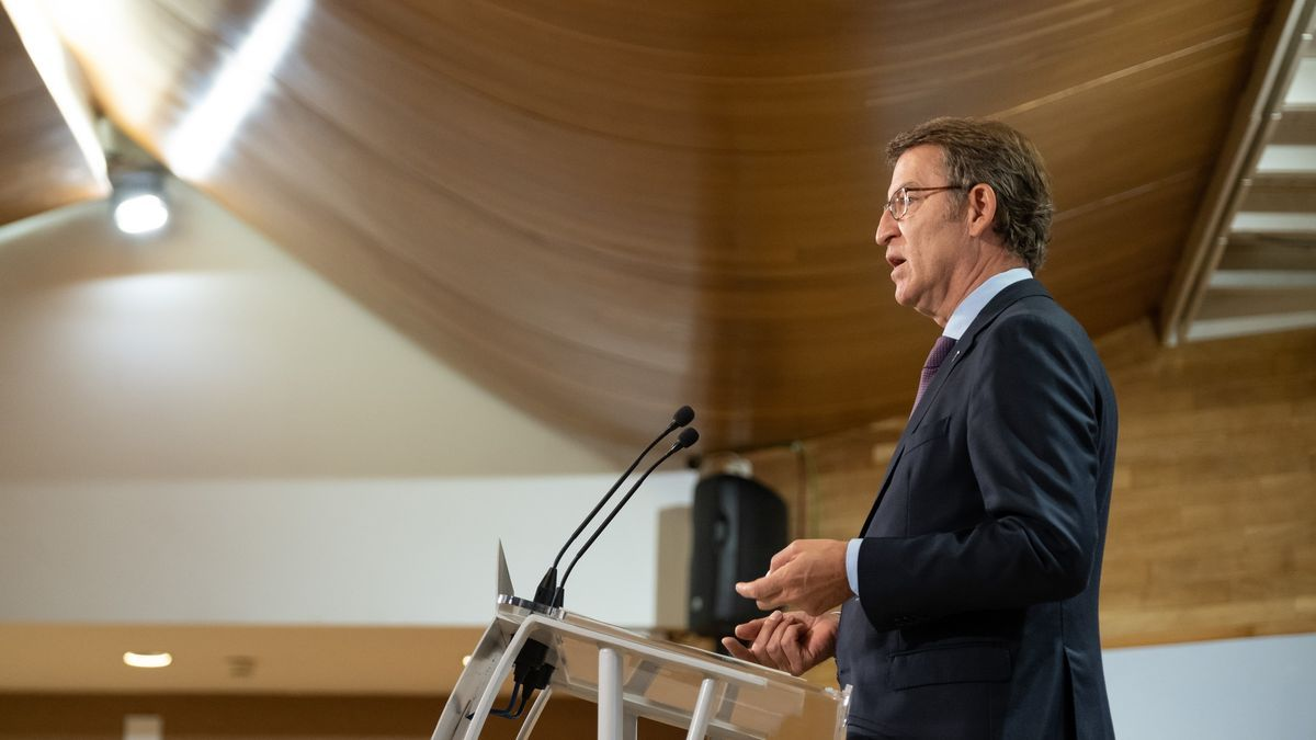 El presidente de la Xunta Alberto Núñez Feijóo.