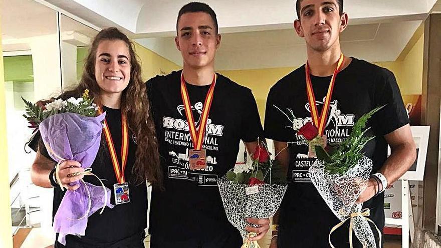 Gran actuación asturiana en el Boxam Internacional