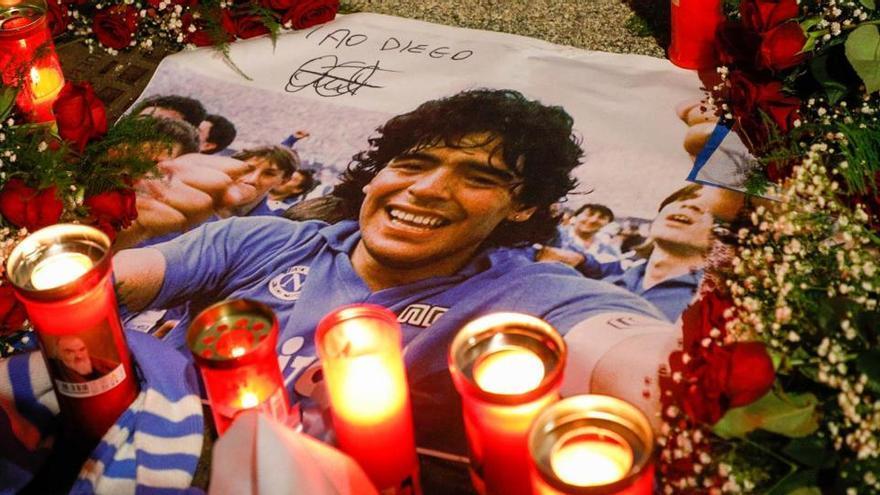 Un informe revela que no había drogas ilegales en el cuerpo de Maradona