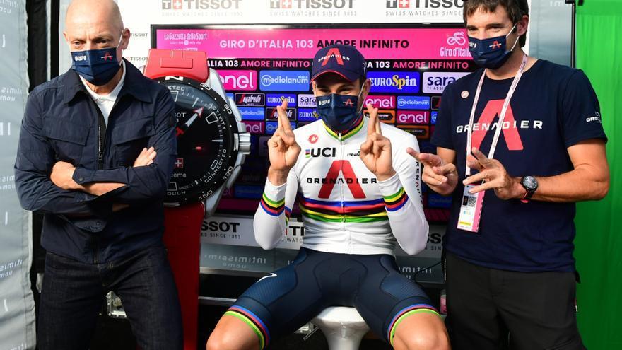 Ganador etapa 21 Giro de Italia 2021: Filippo Ganna