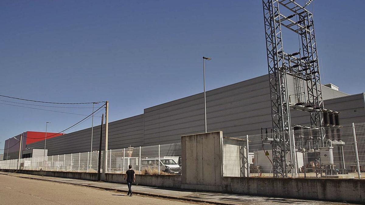 Aspecto actual de la nueva fábrica de Leche Gaza. | José Luis Fernández