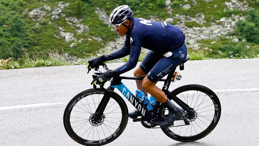 """Enric Mas: """"El maillot amarillo está muy alejado, ahora hay que luchar por el podio"""""""