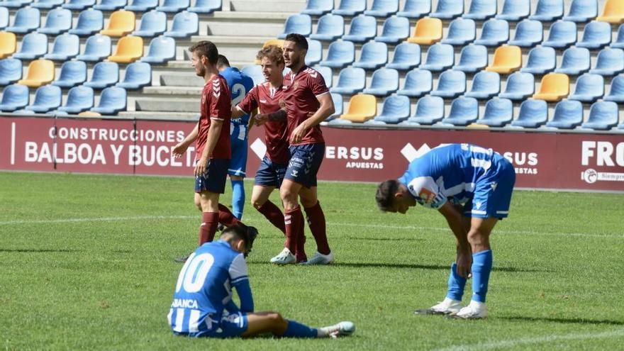 Dos goles de Beauvue le sirven al Deportivo para remontar y llevarse el amistoso ante el Pontevedra