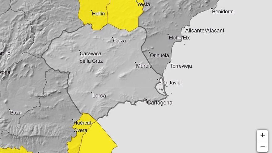 Alerta amarilla por tormentas hoy en el Altiplano