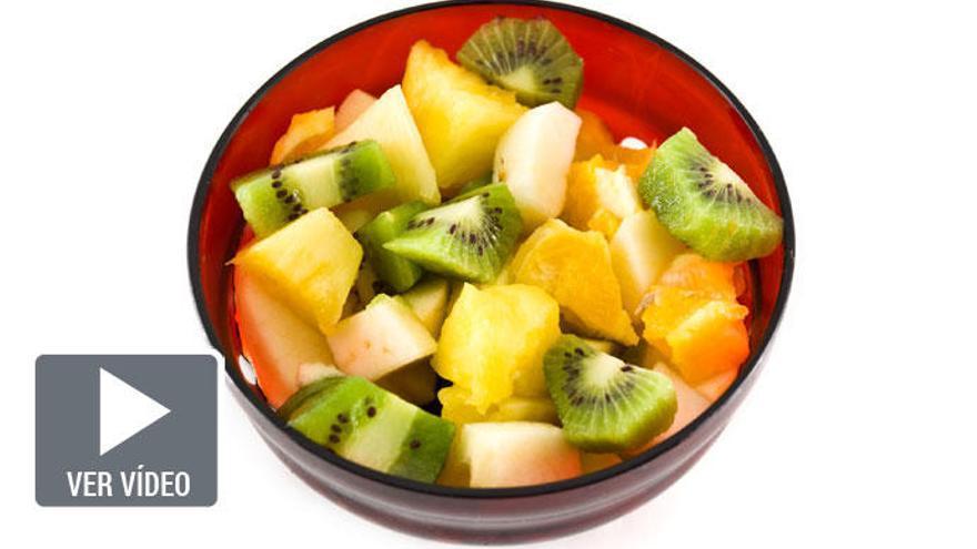 Vídeo-receta: Cóctel de frutas