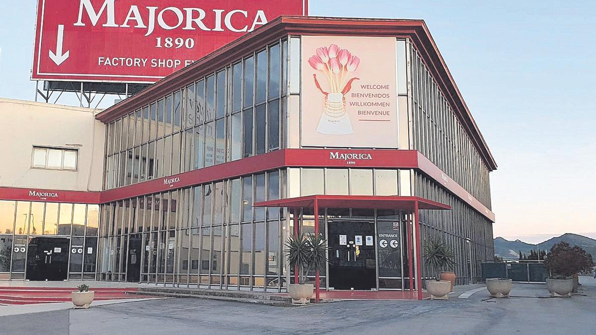 Instalaciones de Majorica a la entrada de Manacor, en una imagen captada ayer.