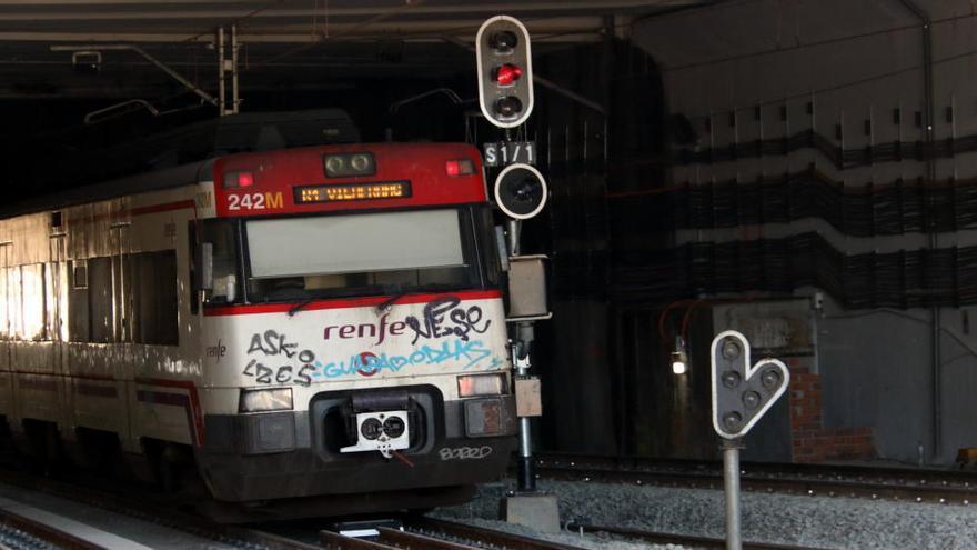 Restablerta la circulació de trens de la línia R4 entre Martorell i Sant Sadurní després de quatre mesos d'obres