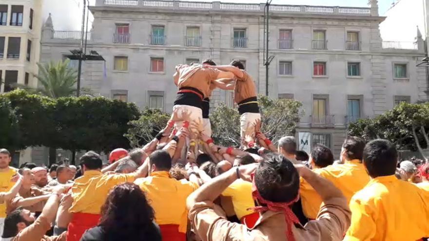 Muixerangues al cielo de Castelló