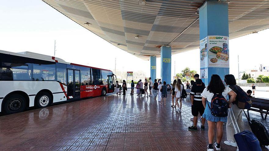 Transportes reactiva las líneas de autobús L1, L5 y L6 de Ibiza desde este miércoles