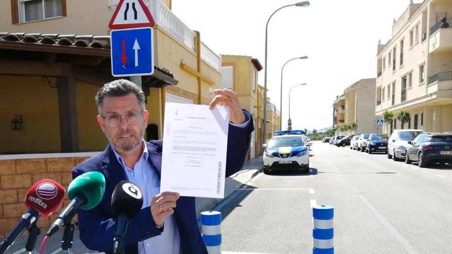 Los ayuntamientos de Rafal y Orihuela se disputan la «soberanía» de media calle