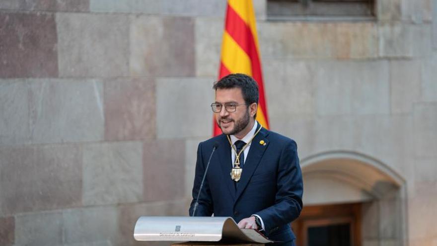 Aragonès: «Comença a caminar una Generalitat nova»
