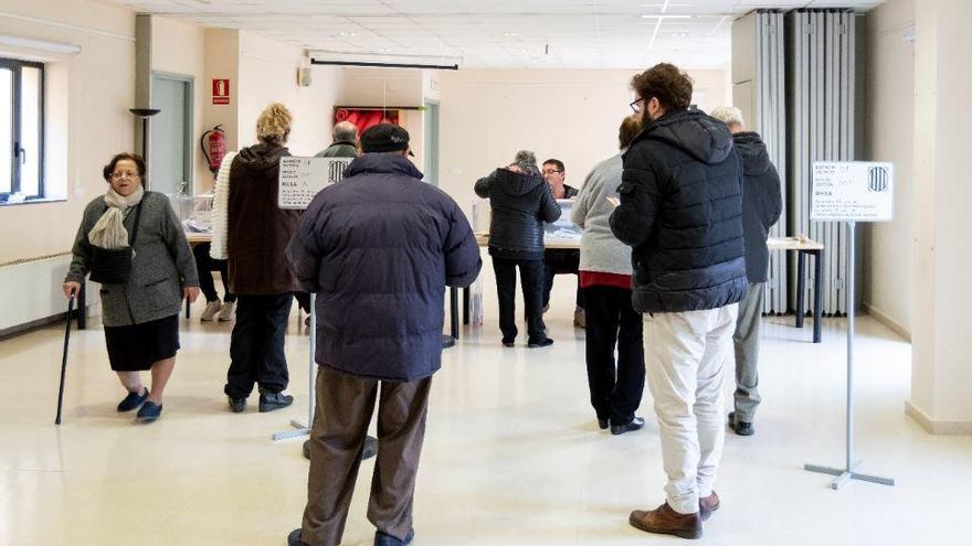 Els col·legis electorals de Castelló són la Sala Polivalent i El Bruel-Empuriabrava
