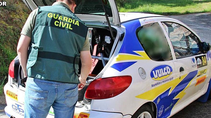 Investigado por falsedad documental un participante del Rallye de Pontevedra