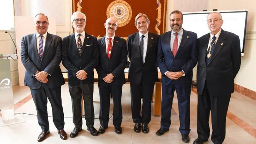 El catedrático Manuel Sosa ingresa en la Real Academia de Medicina de Canarias