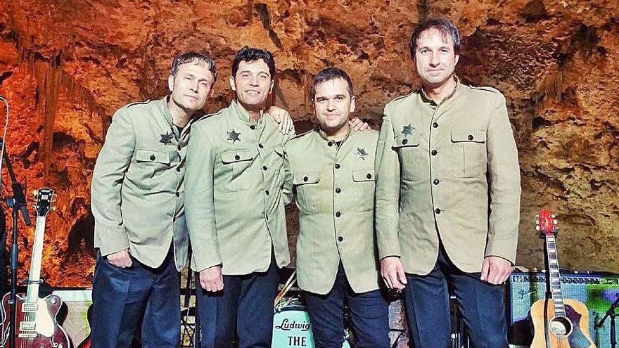 El sonido «beatle» de la Liverpool Band