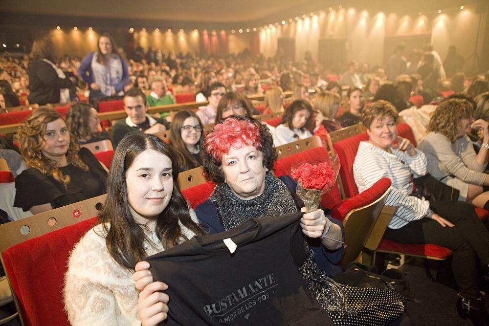 Concierto de Bustamante en el teatro de la Laboral