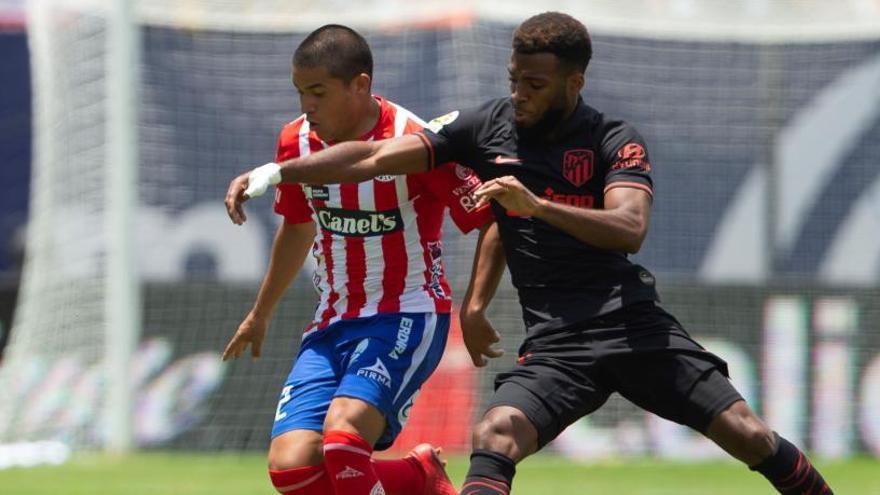 El Atlético gana al Atlético San Luis y prolonga su racha veraniega