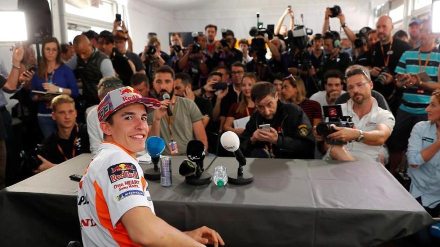 """Márquez dice que no guarda """"ningún rencor"""" a Rossi"""
