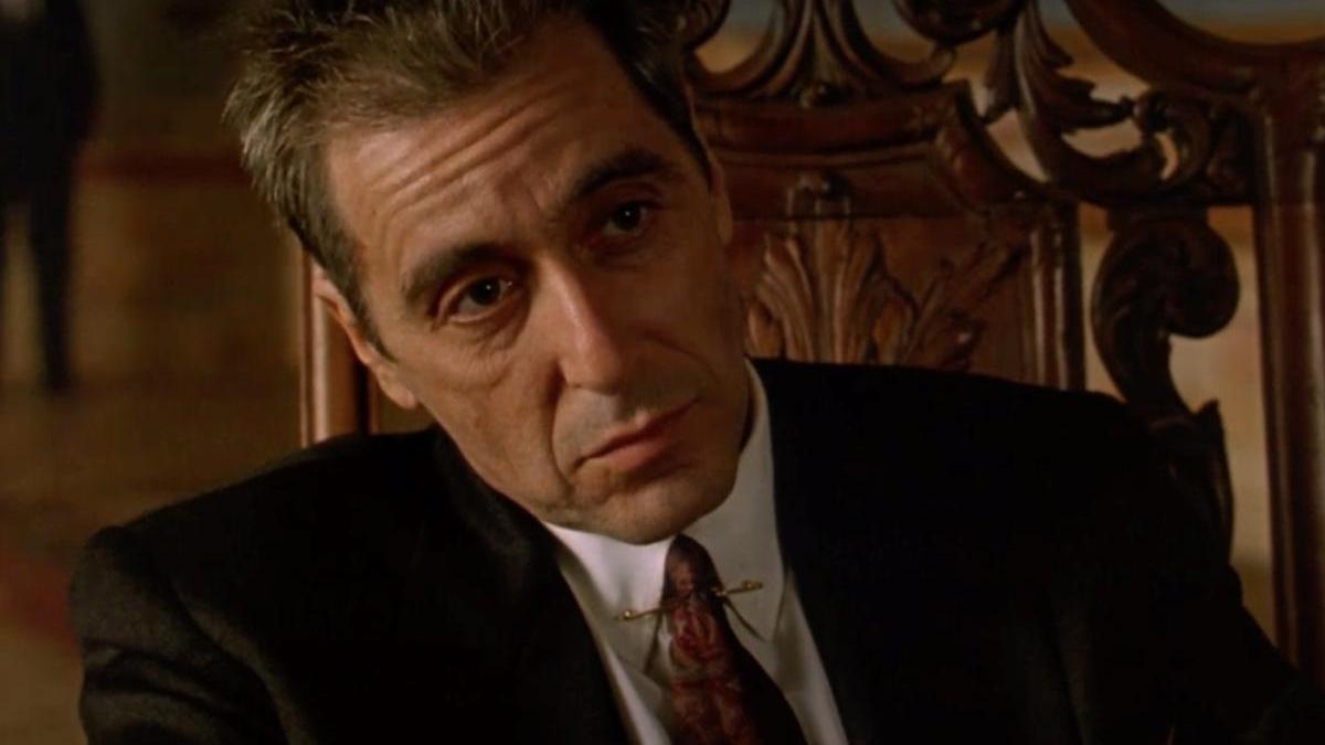Al Pacino en 'El Padrino III'.