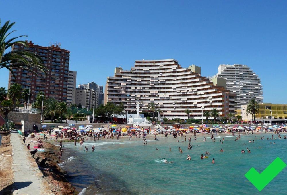 Playa de la Fossa. Calpe.