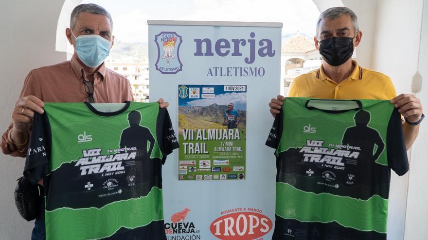 Nerja presenta la séptima edición de la carrera Almijara Trail