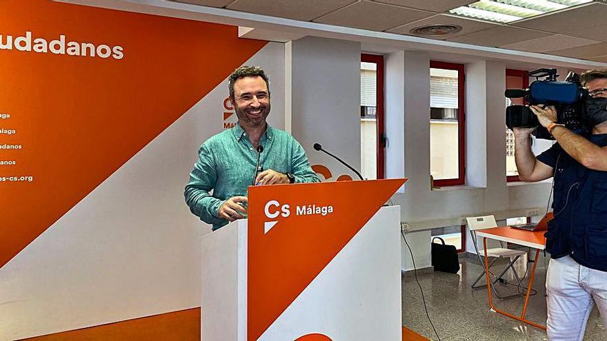 Guillermo Díaz dice que Cs ha logrado un «rearme político»