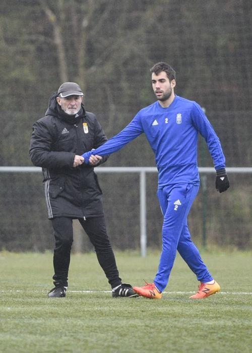 Entrenamiento del Real Oviedo en Tensi