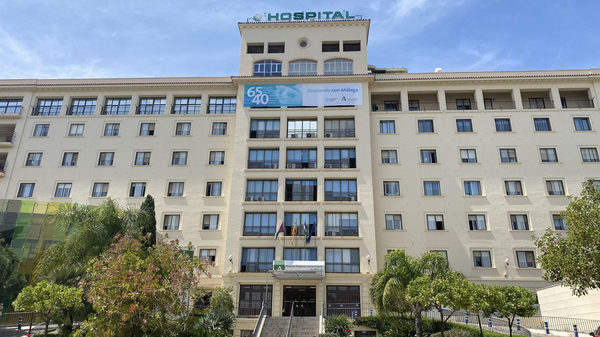 El Hospital Regional de Málaga