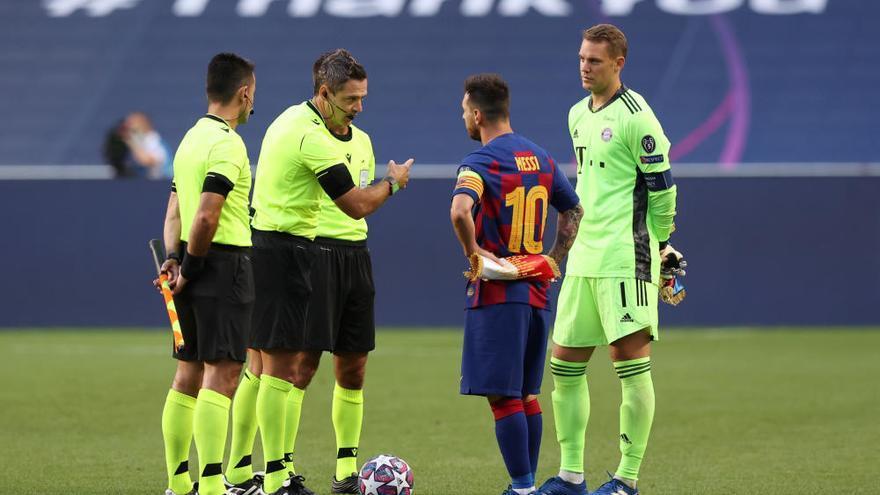 Naufragio histórico del Barça ante el Bayern