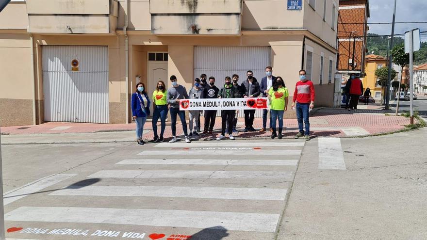 Campaña de médula ósea en el instituto de Jaraíz