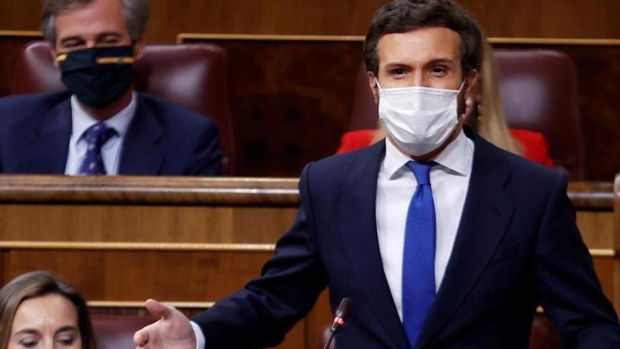 Casado, a Sánchez: «Se li està posant cara de Zapatero»