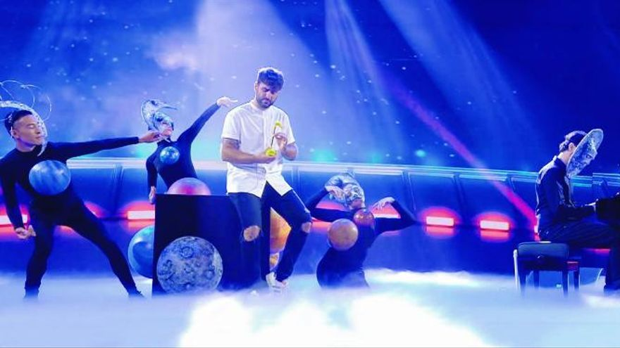 Juanjo Monserrat triunfa en Got Talent con un otamatone