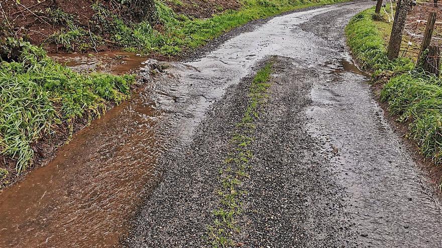 Contigo Silleda alerta del deterioro del vial de acceso a A Saleta