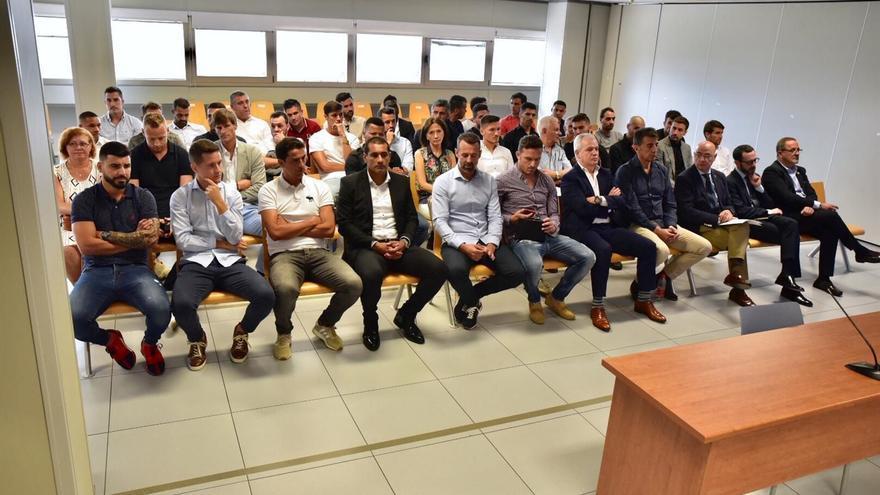 La Audiencia de Valencia absuelve a los acusados por el amaño del Levante-Zaragoza