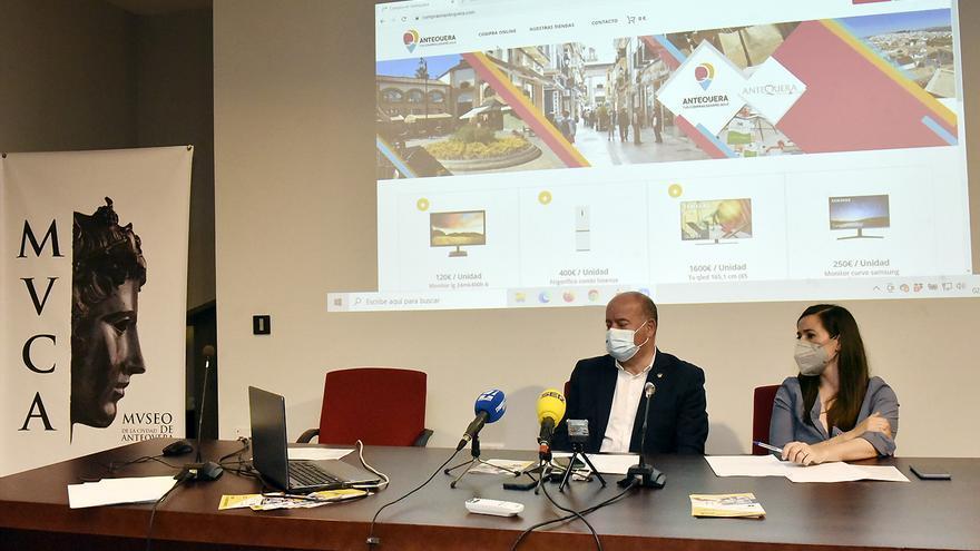 Empresarios de Antequera podrán vender online en el nuevo centro comercial virtual