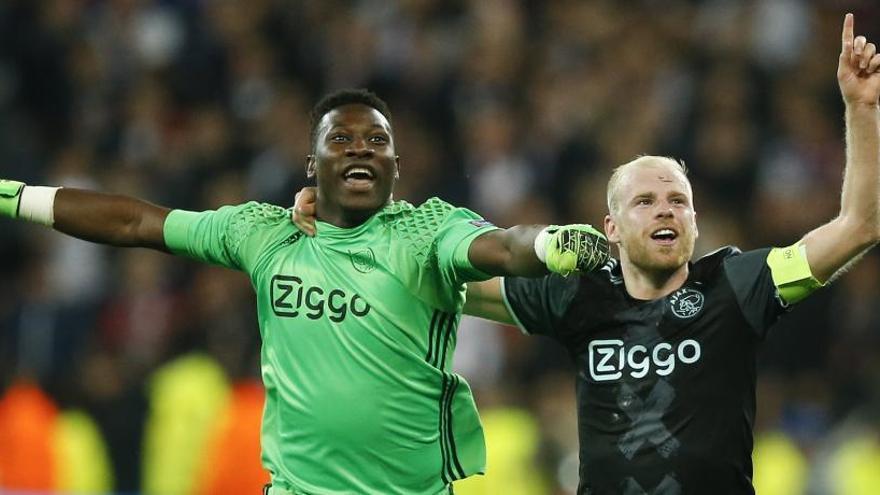 El Ajax, a la final tras sufrir hasta el último minuto