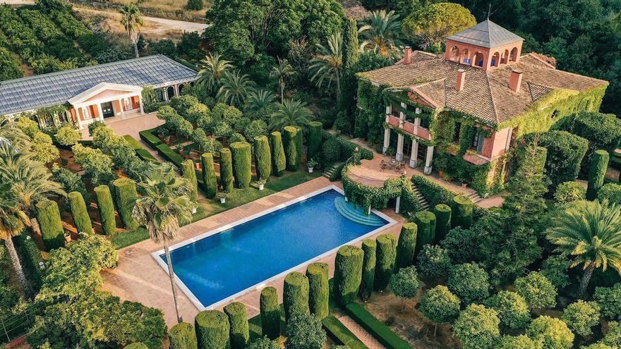 El jardín de l'Albarda, de bancal a una mansión de ensueño en la provincia de Alicante