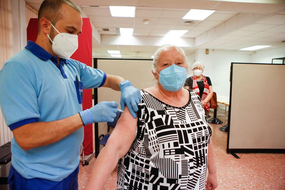 Se ponen las vacunas