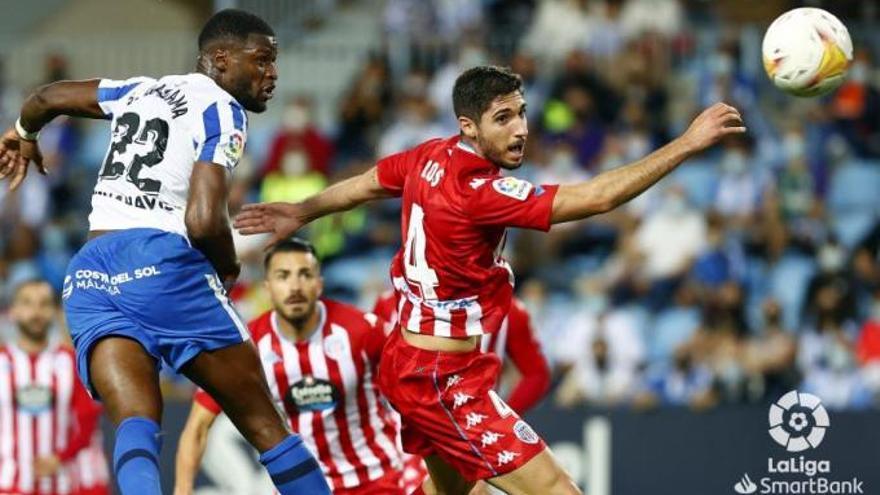 """El Málaga confirma la lesión de Sekou en la """"zona isquiotibial"""""""