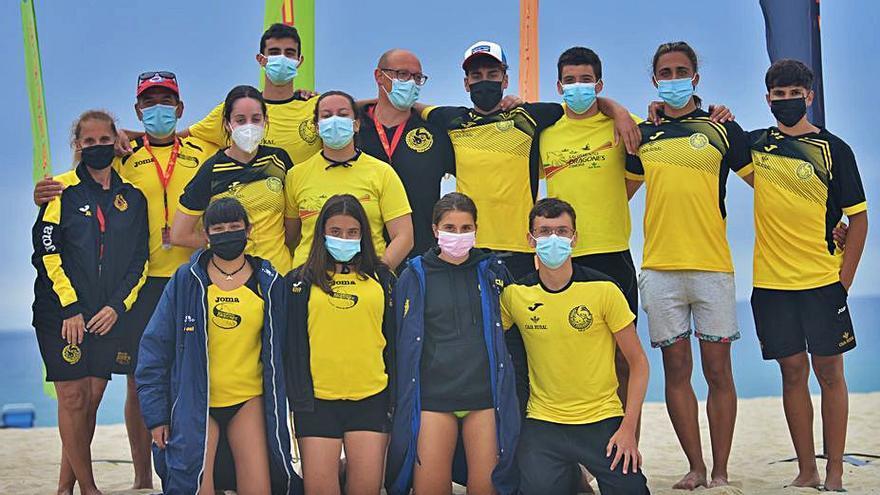 Sara Iglesias, convocada con la selección nacional de playa