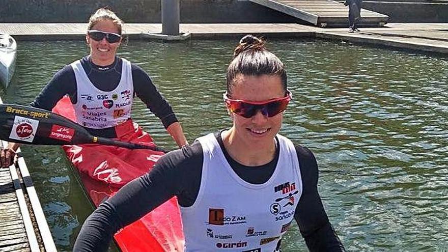 Laura Pedruelo y Eva Barrios conquistan el oro en la categoría K-2 500