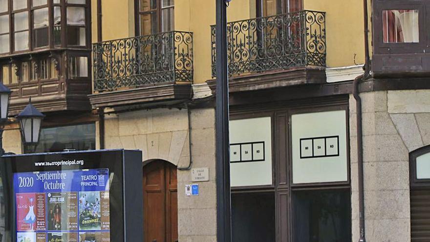 Cámaras en la plaza de Sagasta de Zamora para disuadir el vandalismo