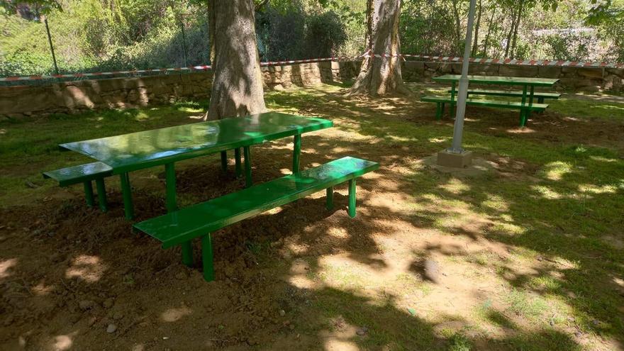 El Ayuntamiento de Benavente recupera la zona de la Fuente Mineral