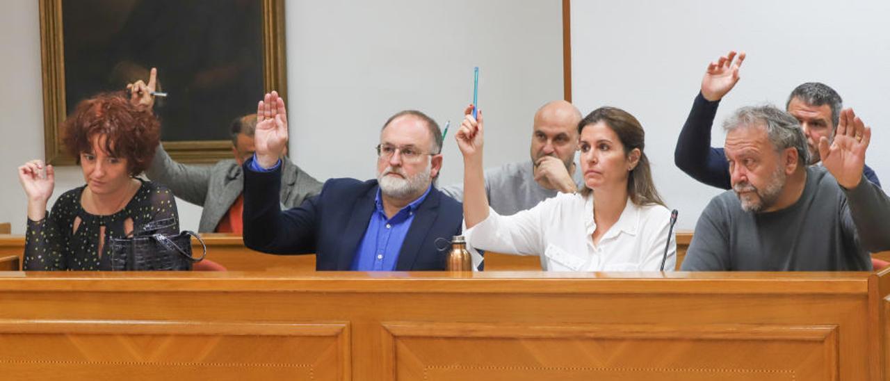 Pleno extraordinario del Ayuntamiento de Torrevieja