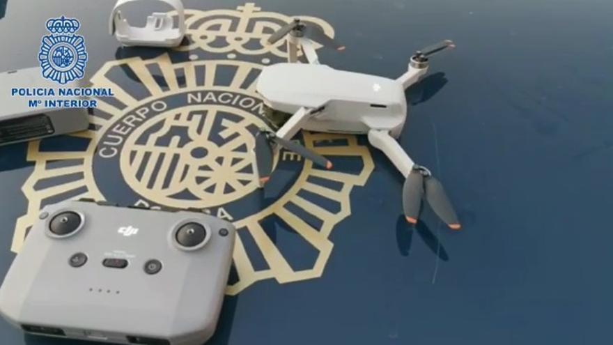 La Policía intercepta un dron que sobrevolaba el Congreso de los Diputados y otros edificios estratégicos