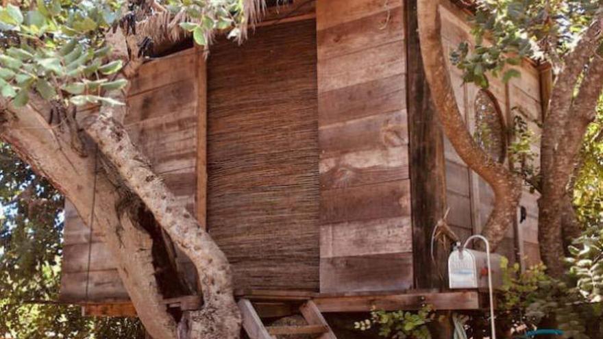 Lo último en alquier vacacional: una casa en un árbol, a 99 euros la noche