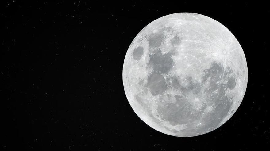 Una imagen de la Luna.