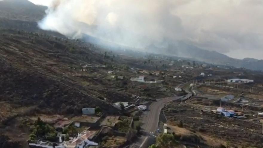 La lava del volcán de La Palma cubre ya 212 hectáreas y hay casi 6.000 evacuados