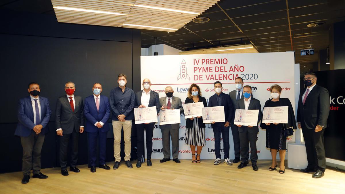 Entrega del IV Premio Pyme del Año de València, el año pasado.